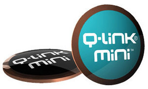 Q-Link Mini available in teal and black.