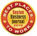Boston Business Journal Best Places to Work Winners Badge