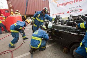 Emergency Rescue of Trapped Car