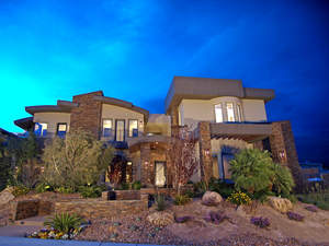 Green Giant:  The Jenson Group Las Vegas Lists Mammoth Certified Green Home