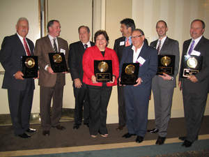 2010 Greater Akron Chamber of Commerce - Excellence in Business award winners.