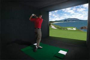 U.S. Open, golf simulator, indoor golf