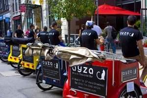 Pedicabs Promotion