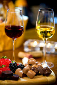 Ayza Wine and Chocolate Bar Jacques Torres