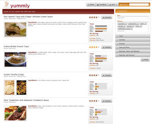 Yummly launches worlds first semantic search platform for food yummlys foodfinder provides search by a variety of methods including ingredient diet allergy nutrition price cuisine time taste course and source forumfinder Image collections