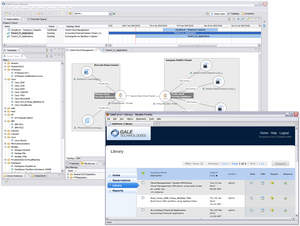 The GaleForce Control Center provides resource management with an end-to-end provisioning and workflow automation service for a wide range of physical and virtual resources, including application, computing, networking, and storage tiers.