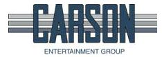 carson entertainment group