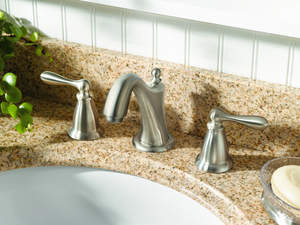 New Spot Resist finish from Moen does just what it says -- resists fingerprints and water spots.
