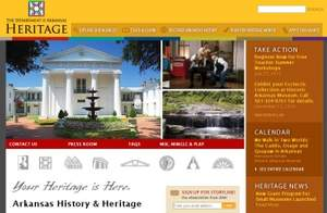 New user-friendly Department of Heritage site highlights the history of Arkansas