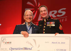 DRS Technologies Raises Over $1 Million Dollars For Operation Mend