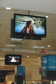 Cisco Digital Signage at Unirea Shopping Center