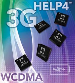 WCDMA Power Amplifiers