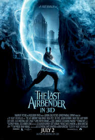 'The Last Airbender in 3D' promotional poster