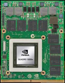 New NVIDIA Quadro 5000M professional graphics solution (2)