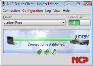 NCP Secure Client - Juniper Edition