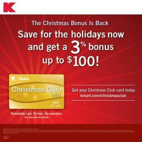 Sears / Kmart Christmas Club