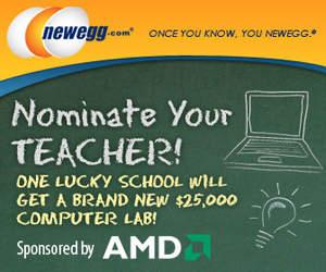 Newegg's Nominate Your Teacher Awards