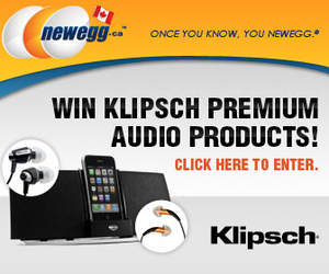 Newegg.ca Launches the Sale of Klipsch Products in Canada