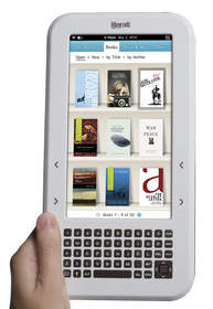 Literati color eReader is a great holiday gift