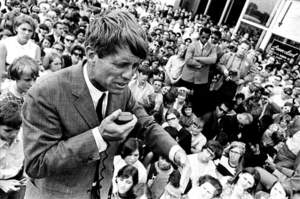 Jim Hubbard, Bobby campaigns, Indiana (1968)