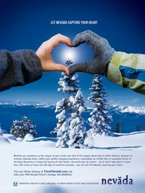 Lake Tahoe ski advertisement helps produce record-breaking results for Nevada Commission on Tourism