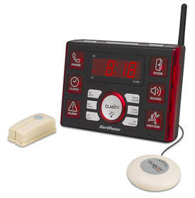 The Clarity AlertMaster AL10 is a visual alert system that helps the deaf and those with profound hearing loss stay connected to the world around them and remain secure in their homes.