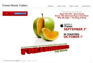 'Freakonomics' trailer on iTunes.
