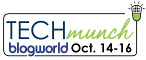 BlogWorld, TECHmunch, food blog, food blogger conference, BakeSpace, KitchenAid, Jenn-Air