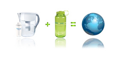 Take the FilterForGood pledge to reduce bottled water waste.
