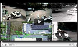 video intrusion detection system demo