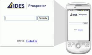 Prospector Mobile Plastics Search Engine by IDES