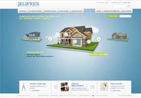 The redesigned JELD-WEN website at www.jeld-wen.com was introduced Sept. 22 and allows homeowners to easily navigate the online shopping experience for windows and doors.