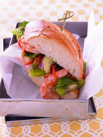 Kiwifruit Shrimp Banh Mi