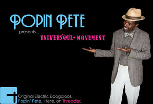 Threader urban clothing partners with popping and boogaloo innovator, Popin' Pete