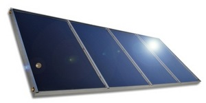 Alanod-Solar mirotherm(R) as part of GREENoneTEC designed GK 3000 series collector