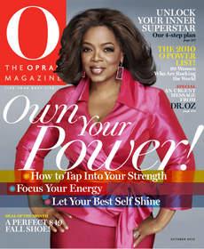 Oprah, O Magazine, Oprah Magazine, O Power List, magazine, Hearst Magazines