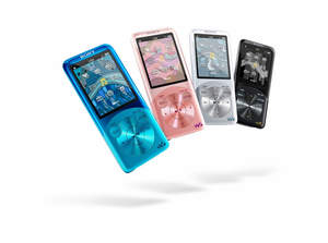 WALKMAN, Sony WALKMAN, Sony, Video MP3 Player, SensMe, Digital Noise Cancelling, S750, Karaoke