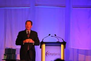 Patrick Quirk presenting at Emptoris Empower 2010
