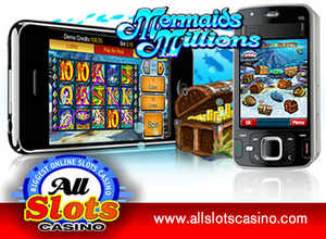 Mermaids Millions pays EUR 38,100 jackpot at All Slots Mobile Casino