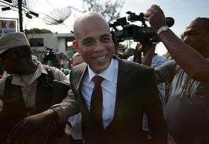 Picture of Haiti Presidential Candidate Michel Martelly
