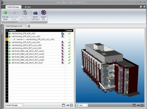 vico software, vico office, manage BIM models