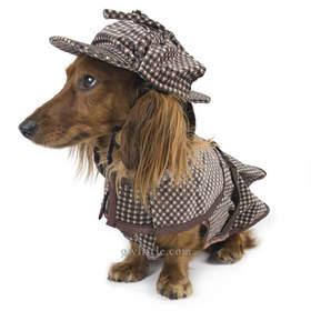 dog costume - Sherlock Hound