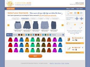 Fashion-Ade.com Select Your Garment