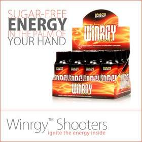 Loaded with vitamins and minerals, Winrgy(R) Shooter gives you long-lasting energy and mental performance without the crash -- so you can work, play and perform at your best.