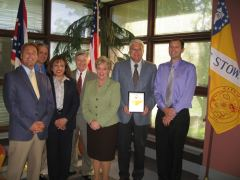 Stow celebrates the 2010 Cascade Capital Business Growth Award winners.