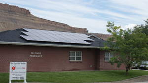 palisade pharmacy solar array