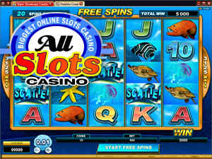 Dolphin Coast and three more new slot machines to arrive this October at All Slots Casino.