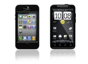 OtterBox Impact Series Cases for iPhone 4 and HTC EVO 4G.