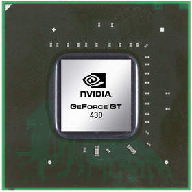 The GeForce GT 430 GPU is the newest addition to the NVIDIA 'Fermi' Family, providing immense performance and unique 3D features not offered by integrated graphics solutions.