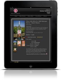 iPad wine app